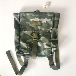 NWT - VS PINK Mini Camouflage Backpack